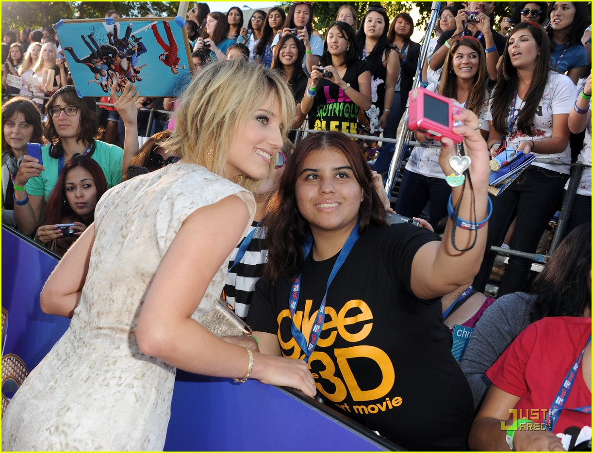 dianna agron glee 3d movie premiere 05