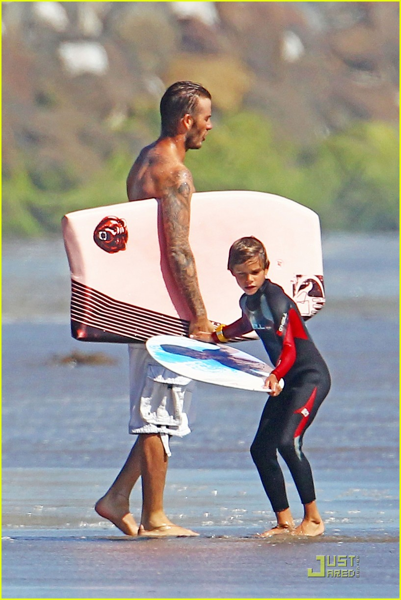 david beckham shirtless beach 202574123