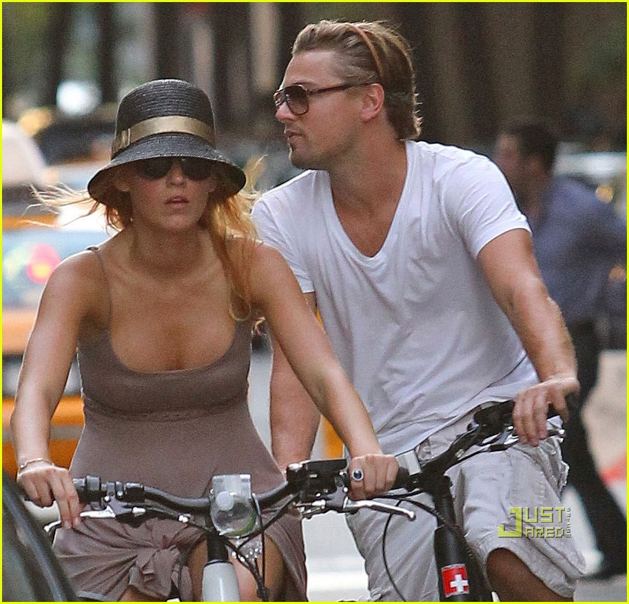 Blake Lively Leonardo Dicaprio Biking In Nyc Photo 2566031