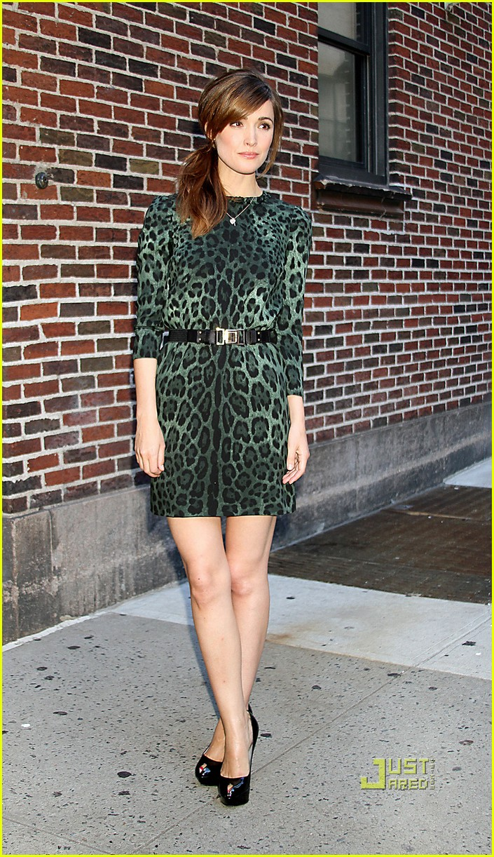 rose byrne david letterman 07