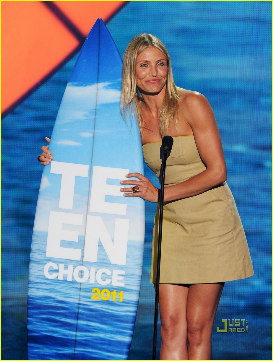 cameron diaz teen choice awards 2011 03