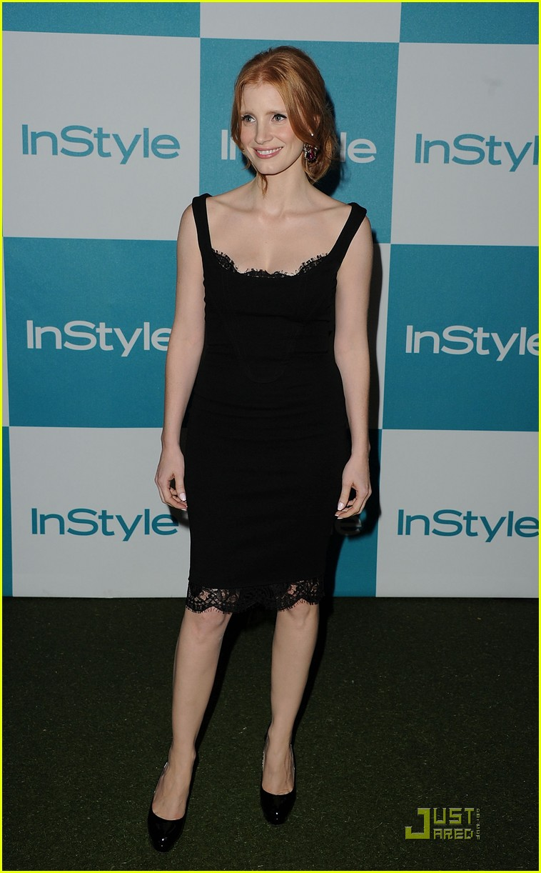 jessica chastain jennifer love hewitt instyle summer soiree 01