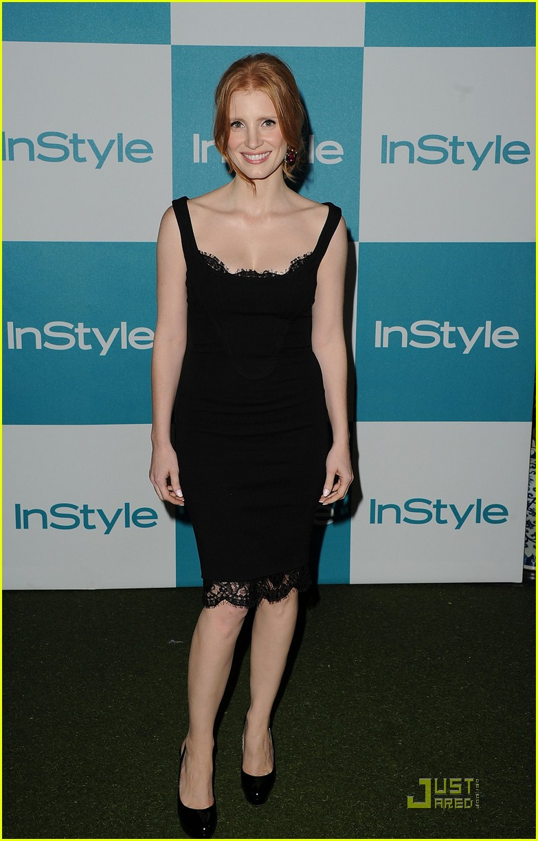 jessica chastain jennifer love hewitt instyle summer soiree 14