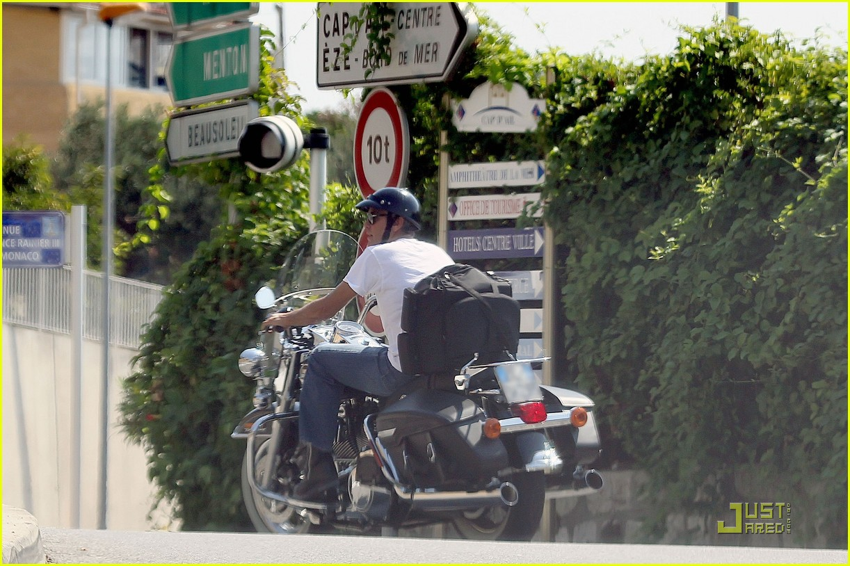george clooney bono motorcycles 032574102