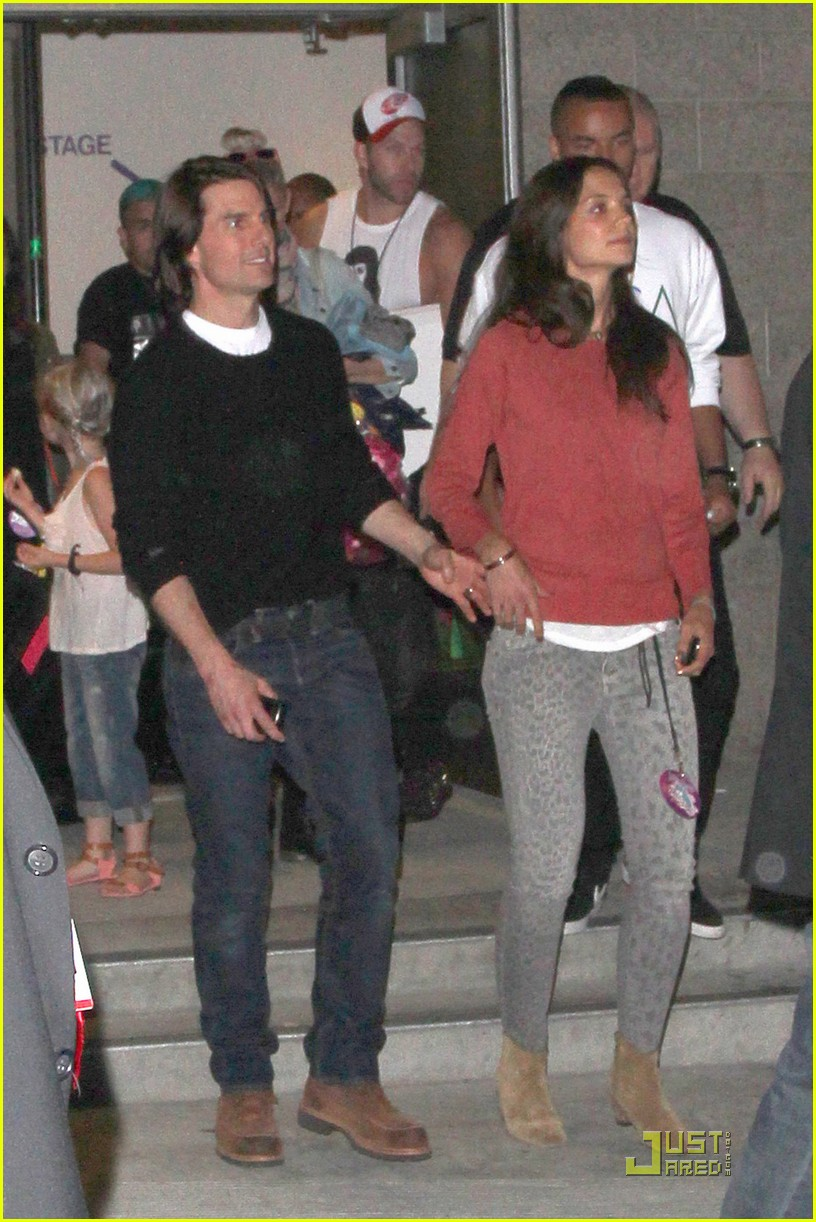 katie holmes tom cruise concert 052568179