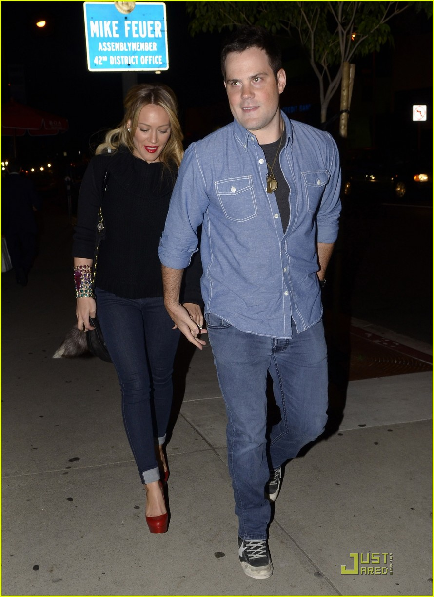 hilary duff date night mike 092569366