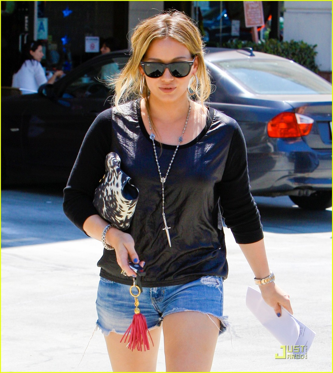 hilary duff daily grill lunch date 022573096