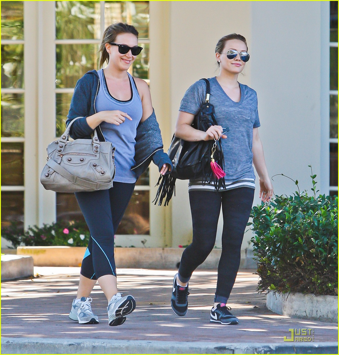 hilary haylie duff gym 06