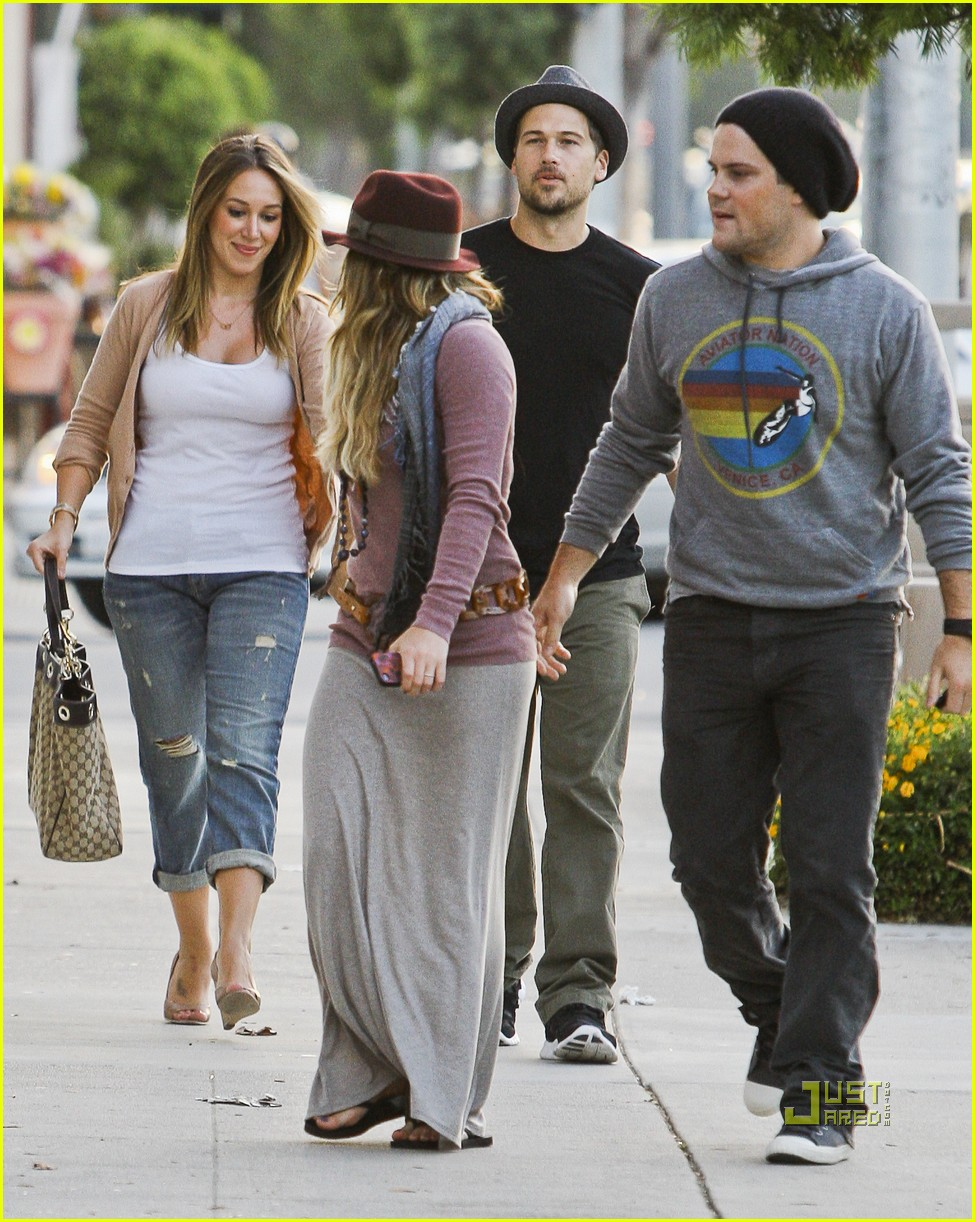 The best: when did hilary duff and mike comrie start dating