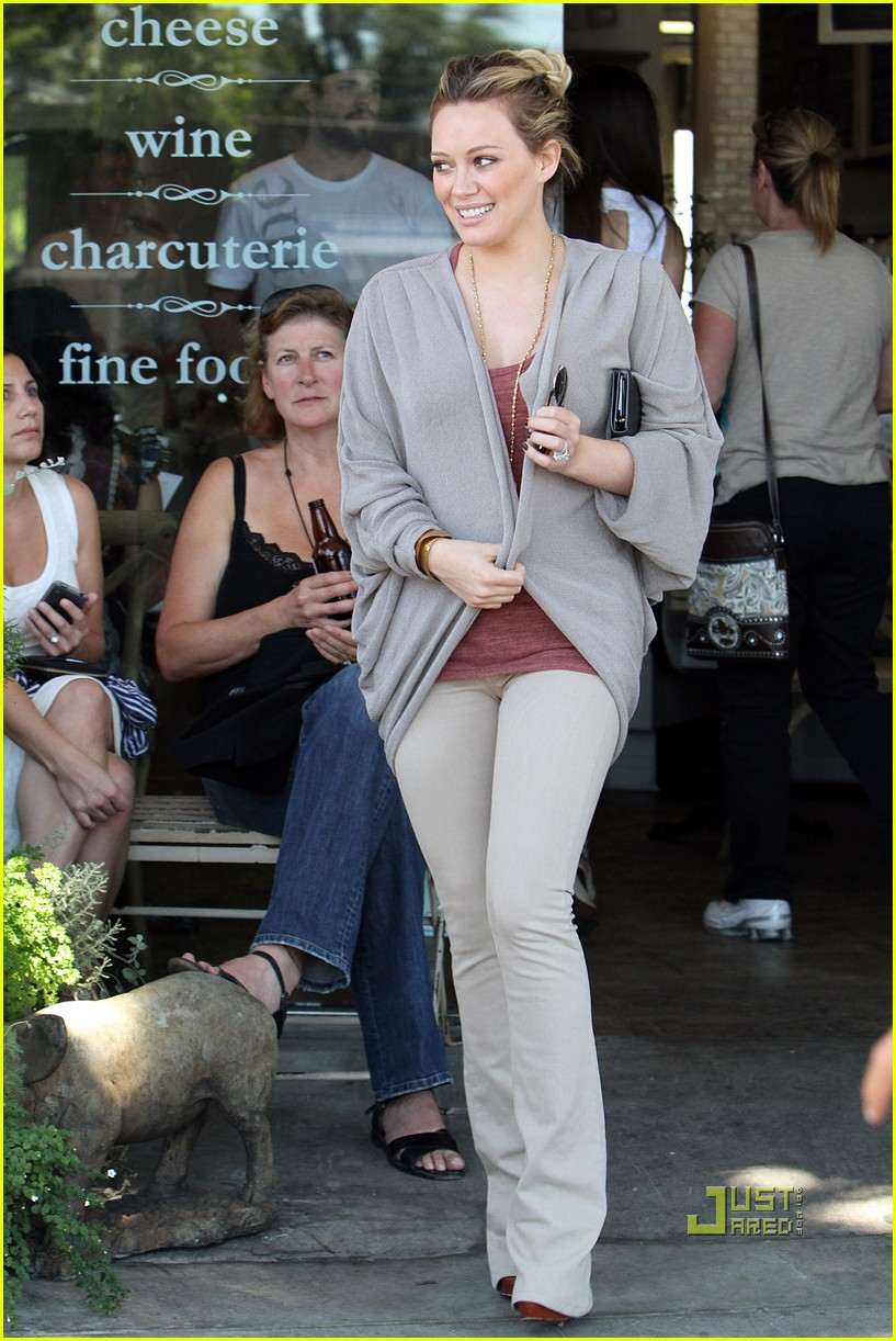 hilary duff doctor appointment 042573349
