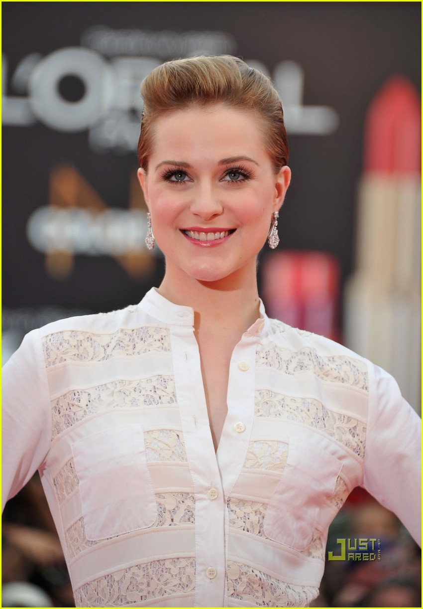 evan rachel wood george clooney ides of march premiere 02