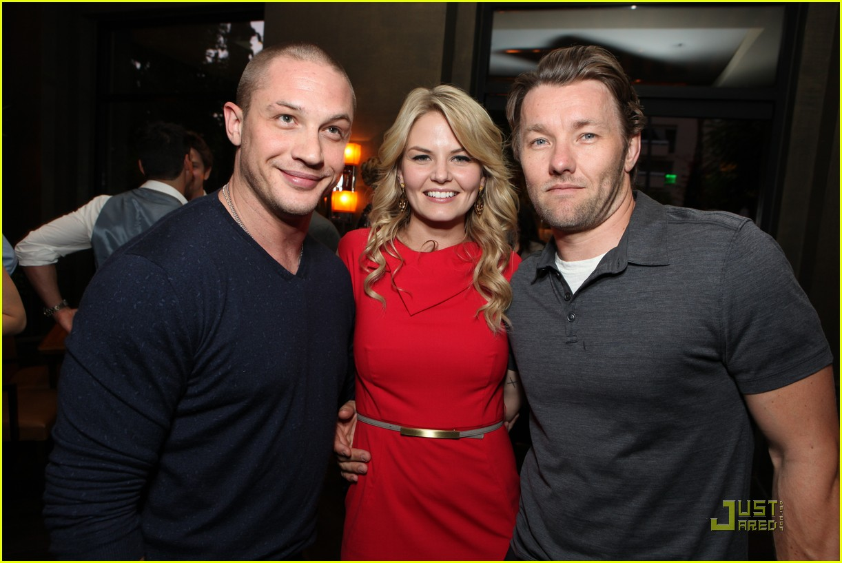 tom hardy warrior party with joel edgerton and jennifer morrison 032572184
