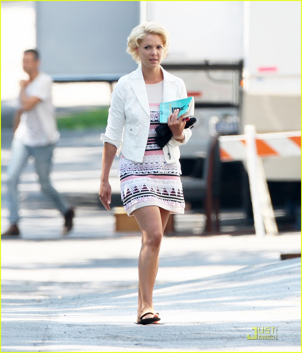 katherine heigl on set of the wedding 022566197