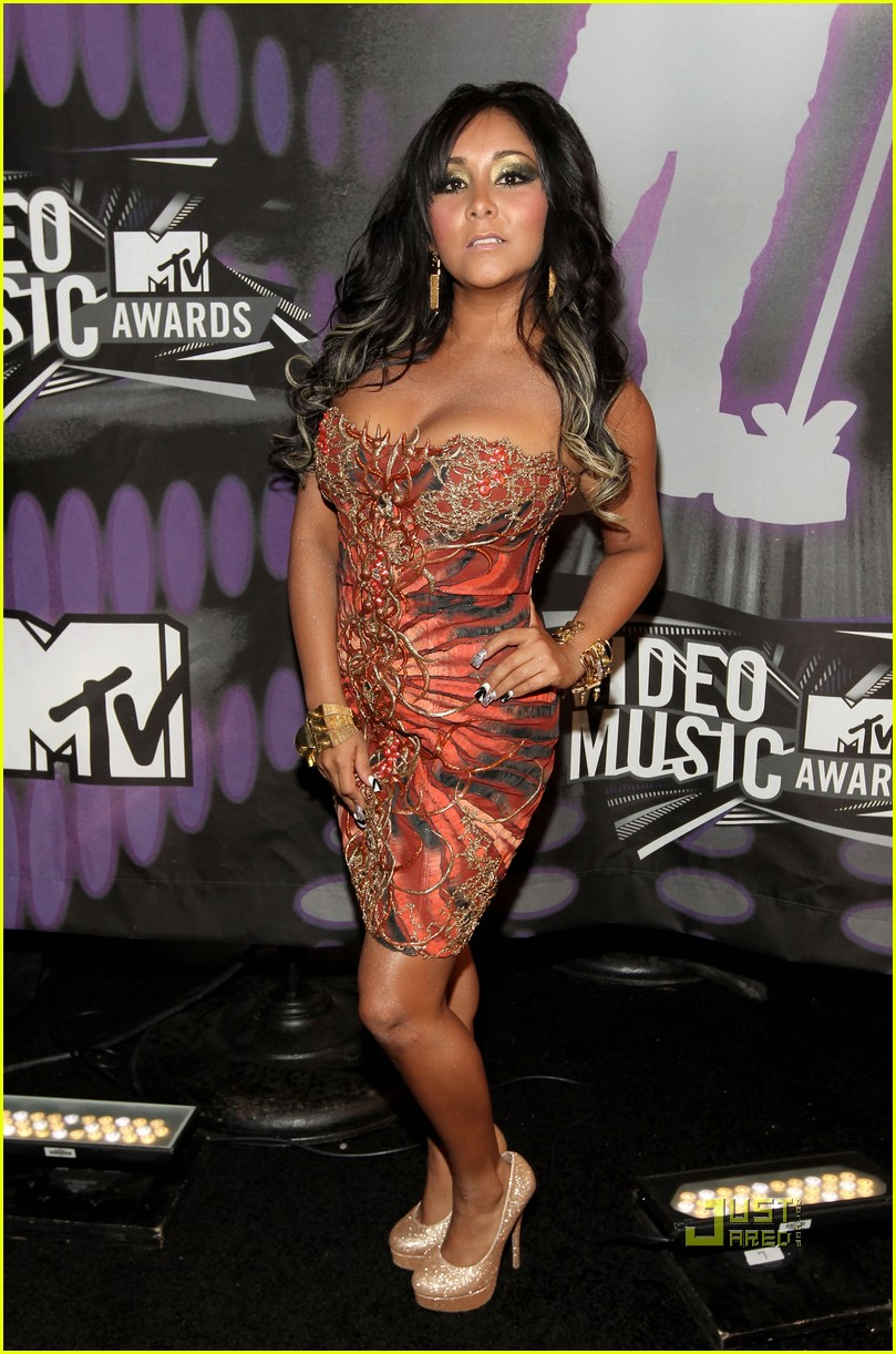 jersey shore mtv vmas 2011 red carpet 012574352