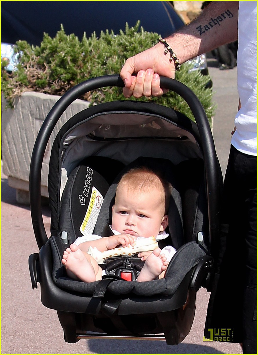 elton john david furnish st tropez with baby zachary 05