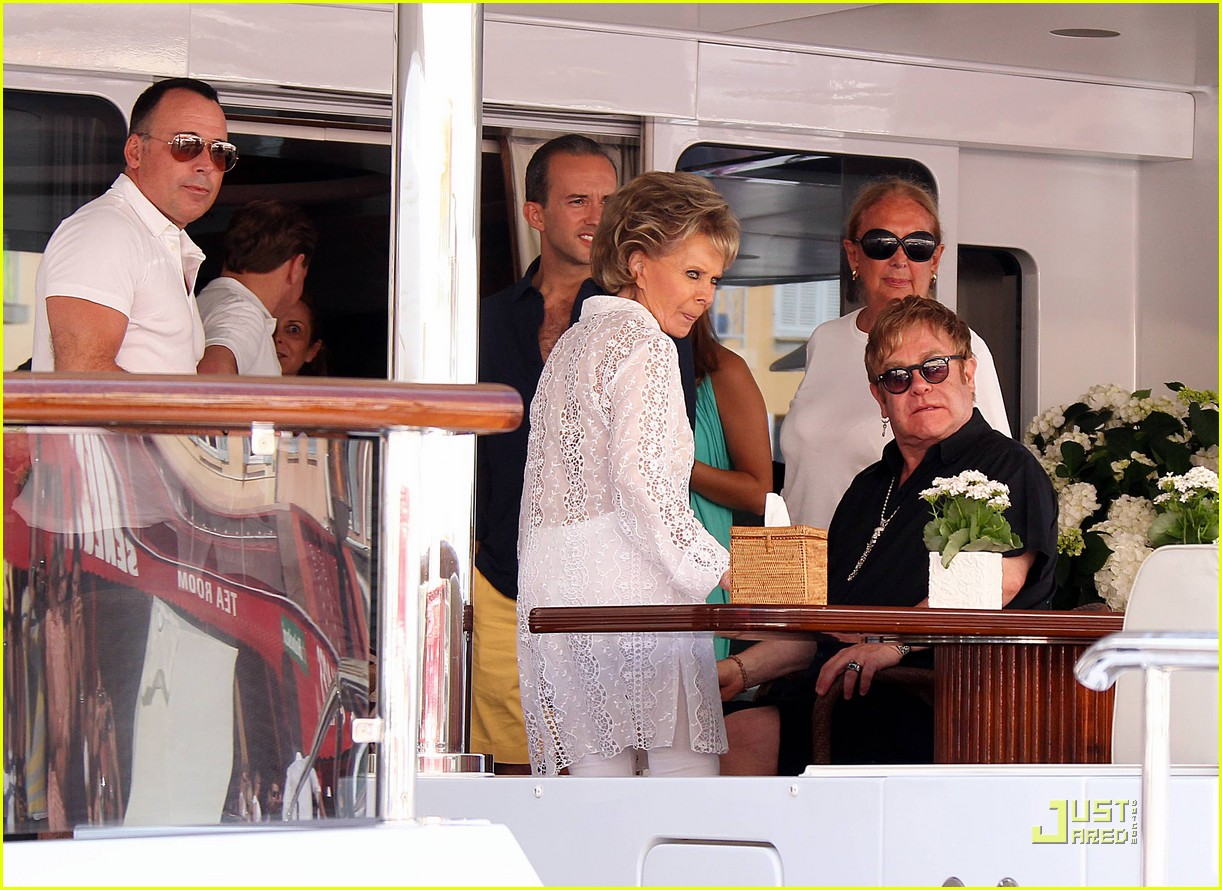 elton john david furnish st tropez with baby zachary 08