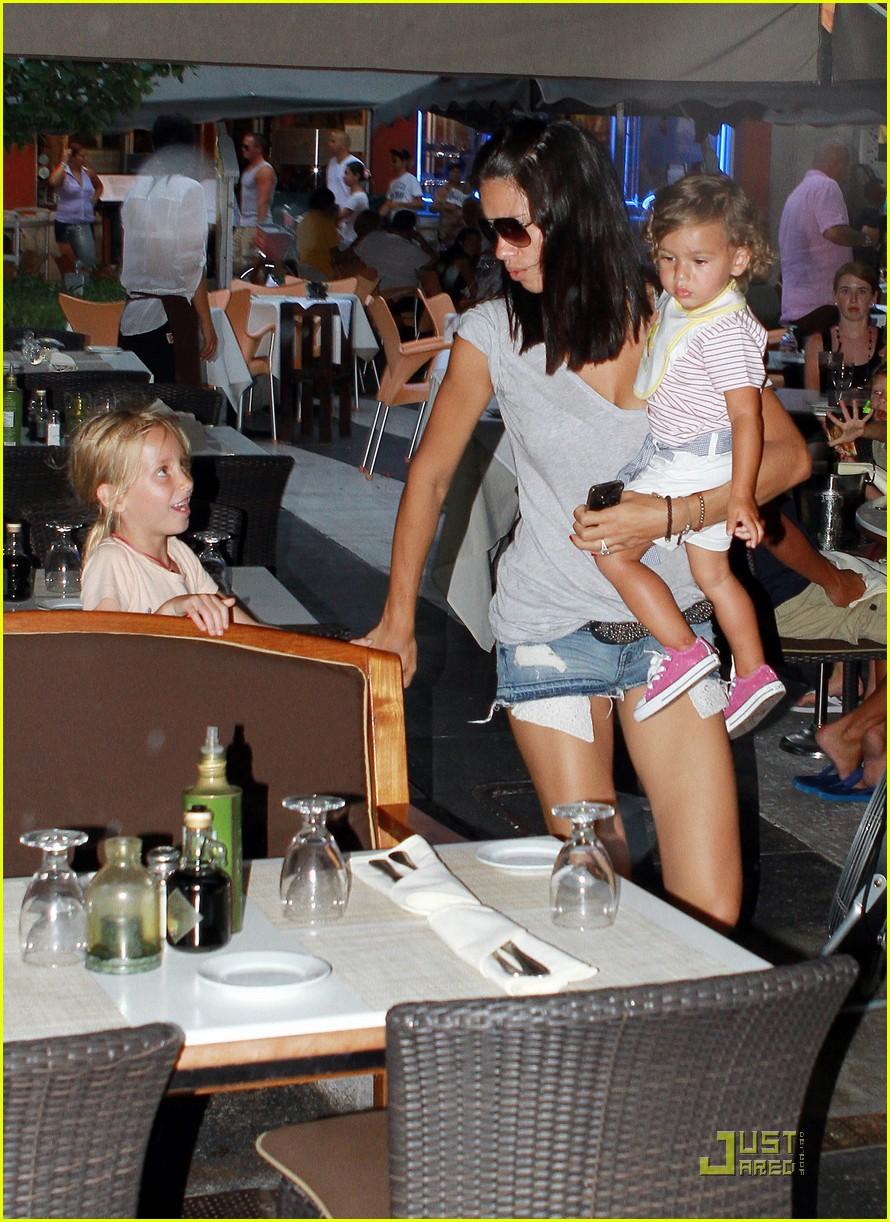 adriana lima family fun in miami 022566920