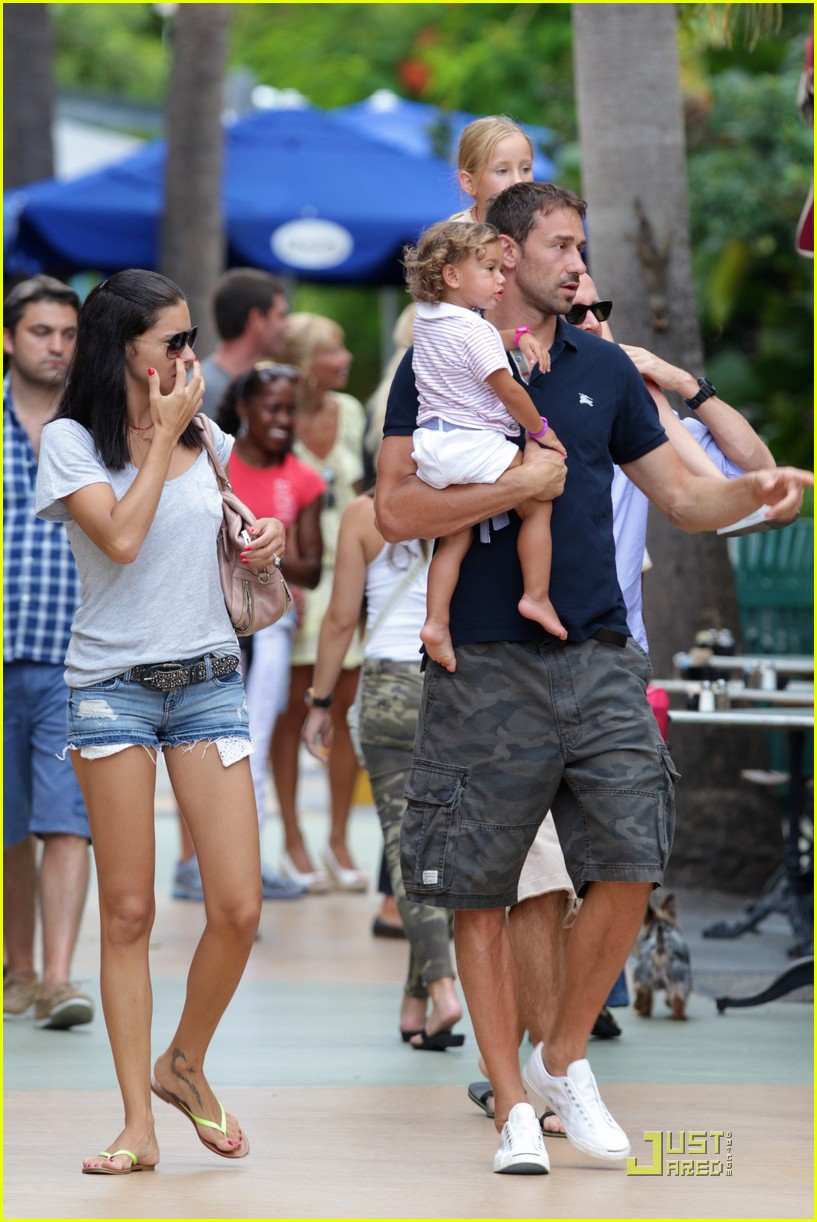 adriana lima family fun in miami 062566924