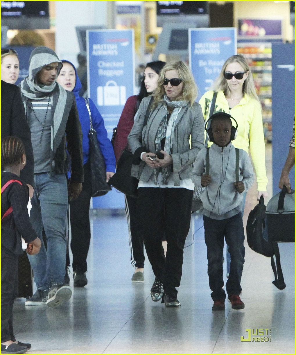 madonna brahim zaibat heathrow 01
