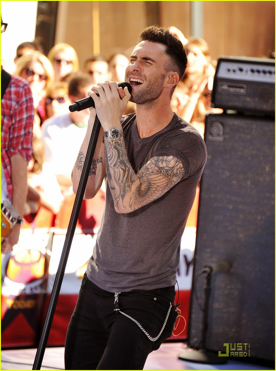 a92dd5f174 Maroon 5   Moves Like Jagger  on The Today Show!  Photo 2567530 ...