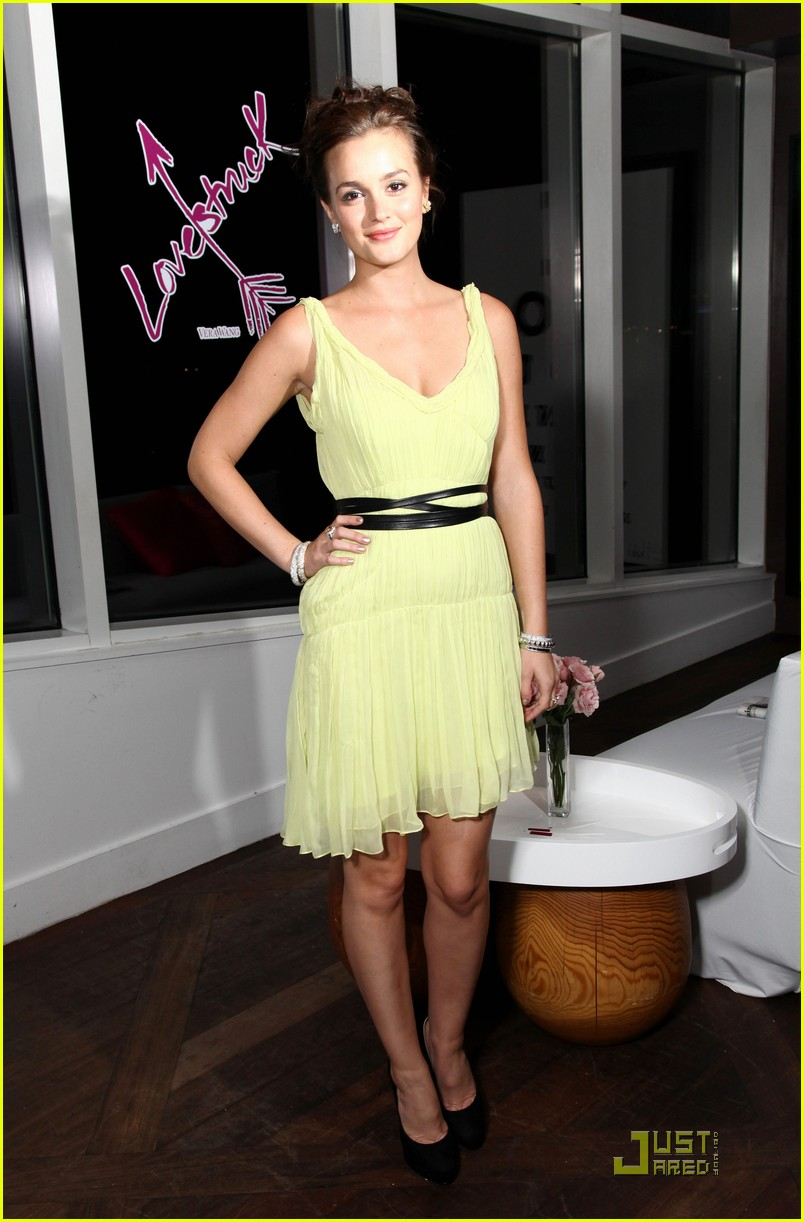 leighton meester lovestruck launch event 092573157