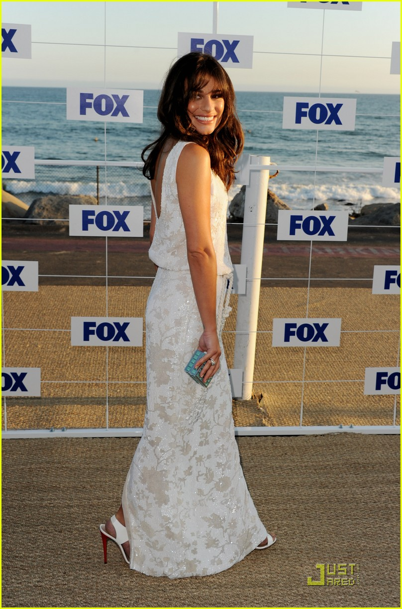 lea michele jenna ushkowitz fox allstar party 082567294