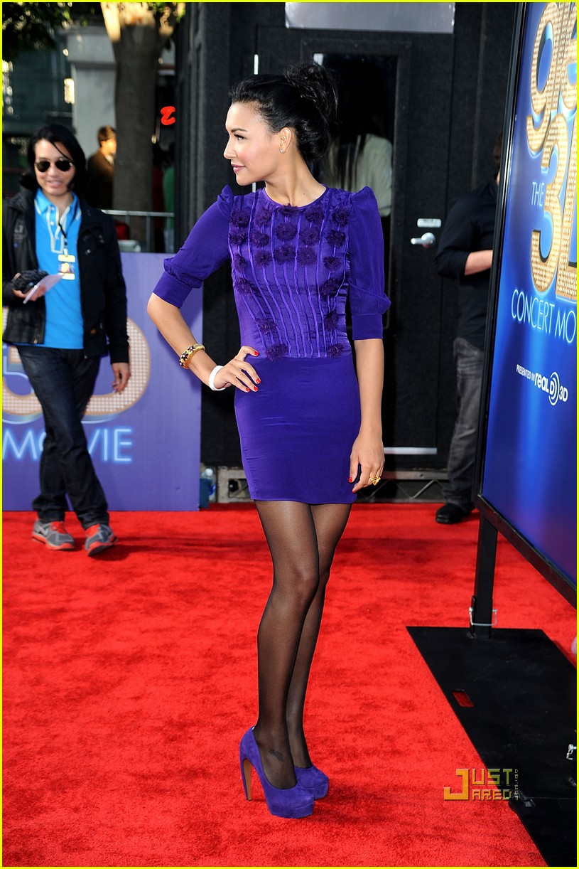 naya rivera heather morris ashley fink glee 3d premiere 142567715