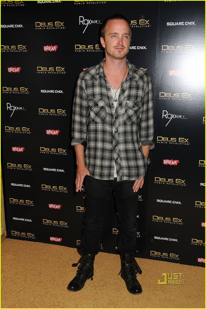 aaron paul scott porter deus ex launch 042572811