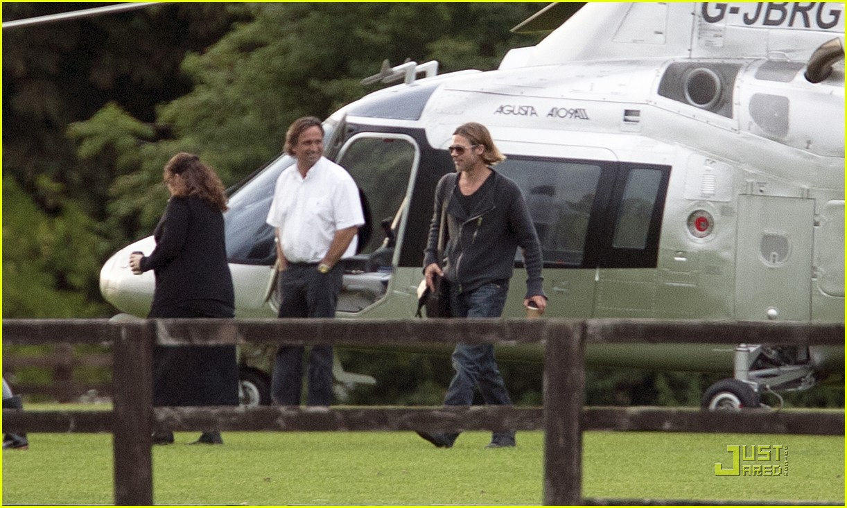 brad pitt helicopter richmond 072569499