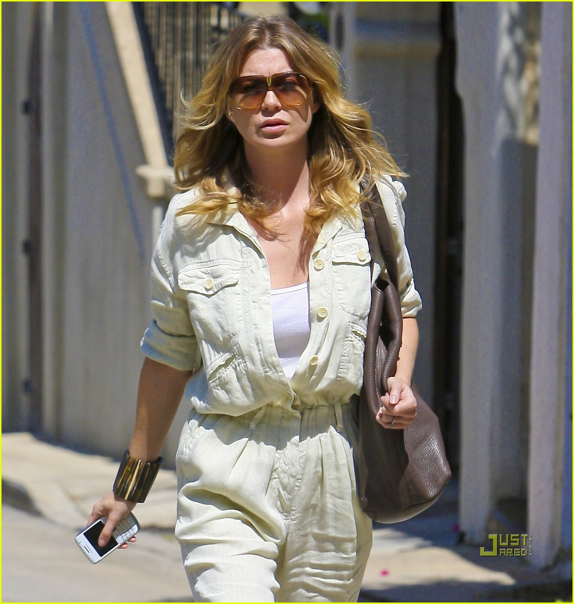 ellen pompeo jumpsuit out la 01