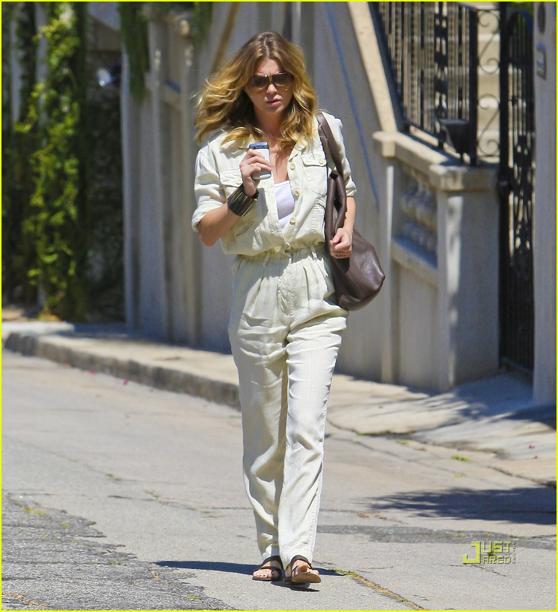 ellen pompeo jumpsuit out la 02