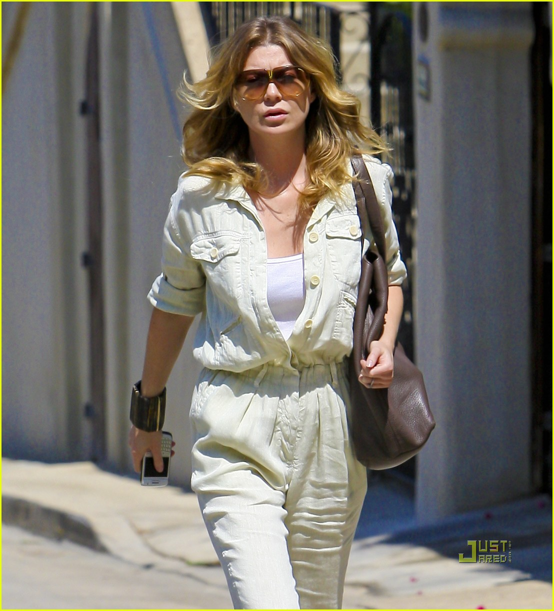 ellen pompeo jumpsuit out la 08