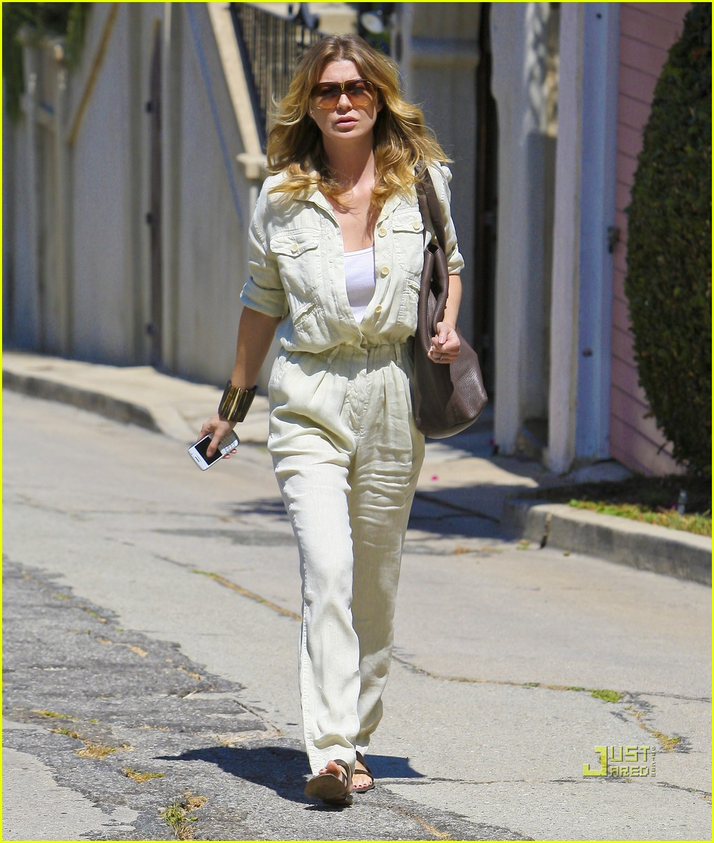 ellen pompeo jumpsuit out la 10