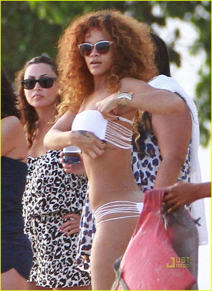 rihanna bikini beach barbados 062566804