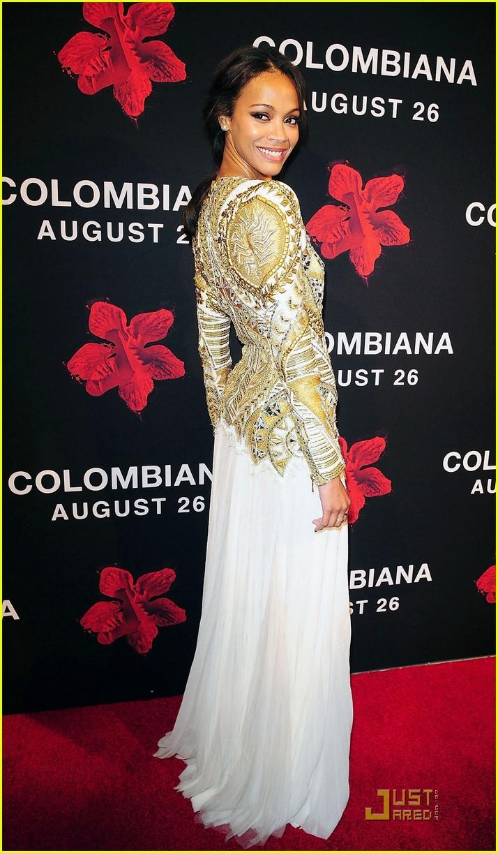 zoe saldana colombiana miami premiere 032572782