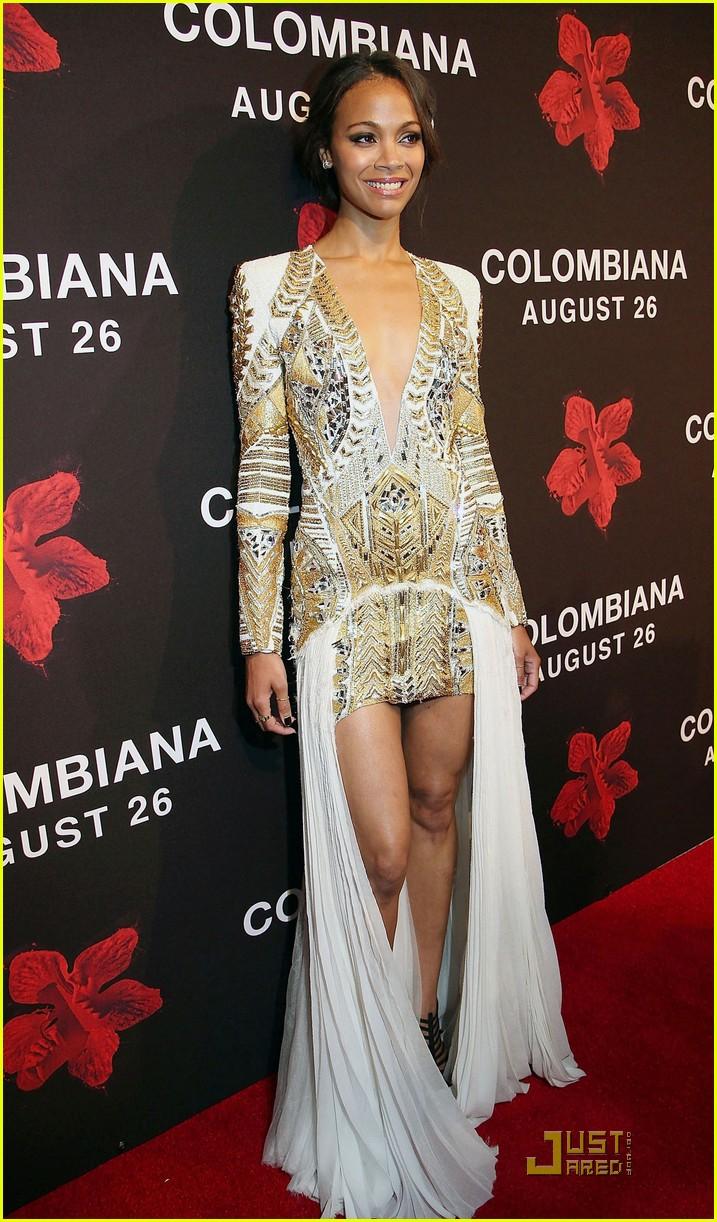 zoe saldana colombiana miami premiere 162572795