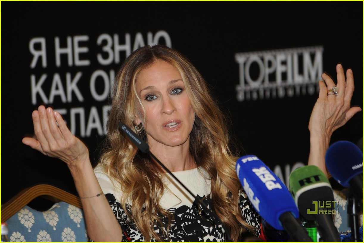 sarah jessica parker dont know how she does it russia 06