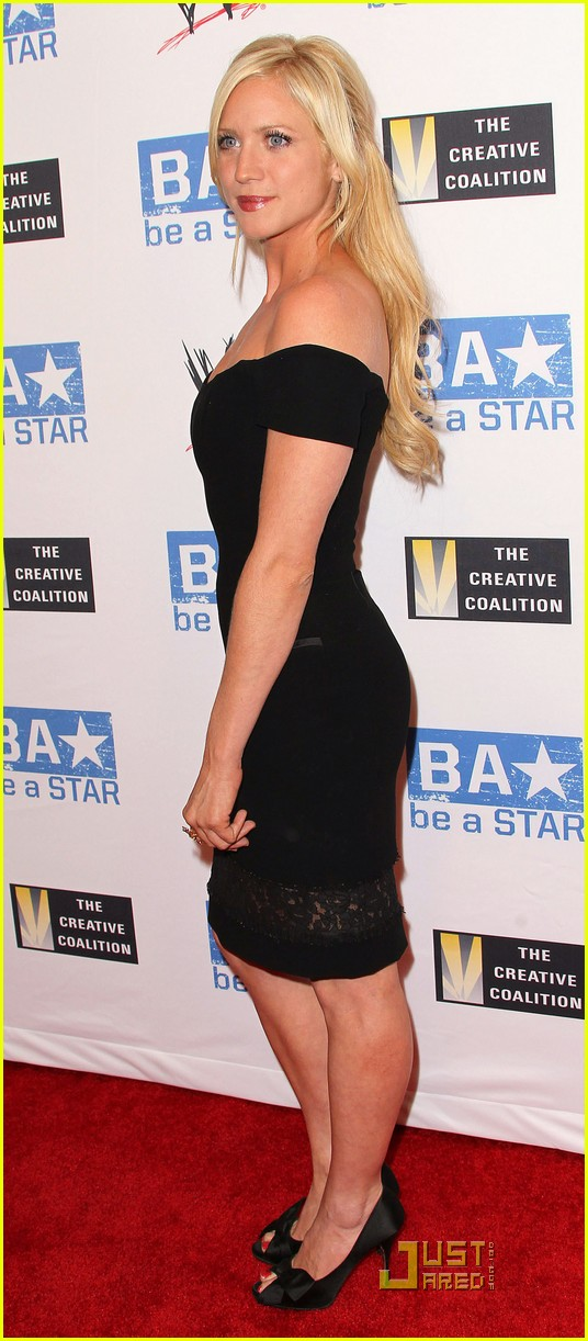 brittany snow wwe summer slam kickoff party 062569386