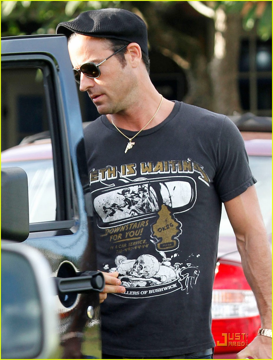 Full Sized Photo of justin theroux happy 40th birthday 04 ...