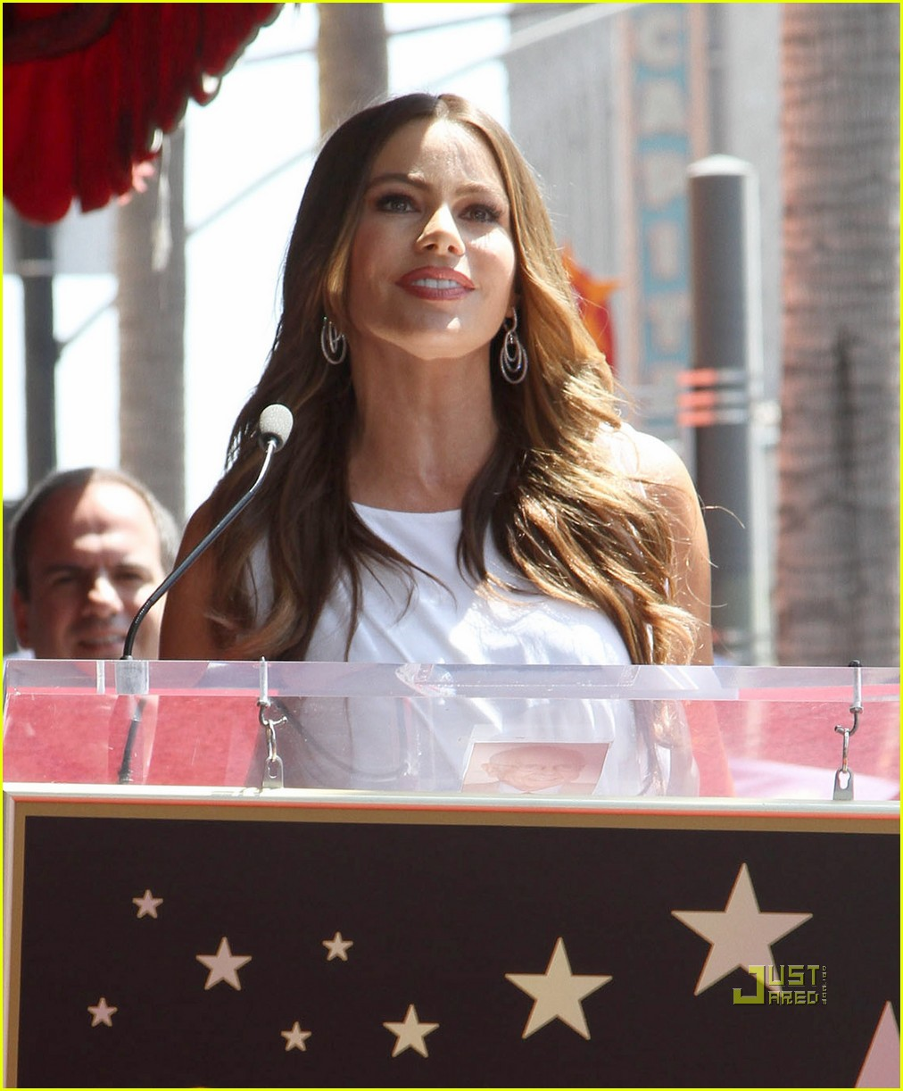 sofia vergara walk of fame 03