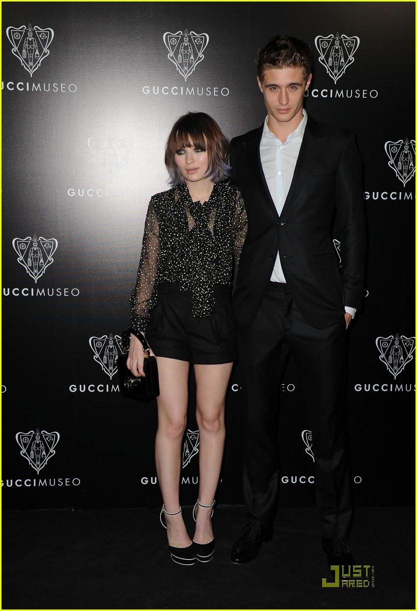 Are emily browning and max irons still dating