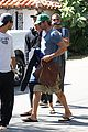 gerard butler walk beach 04