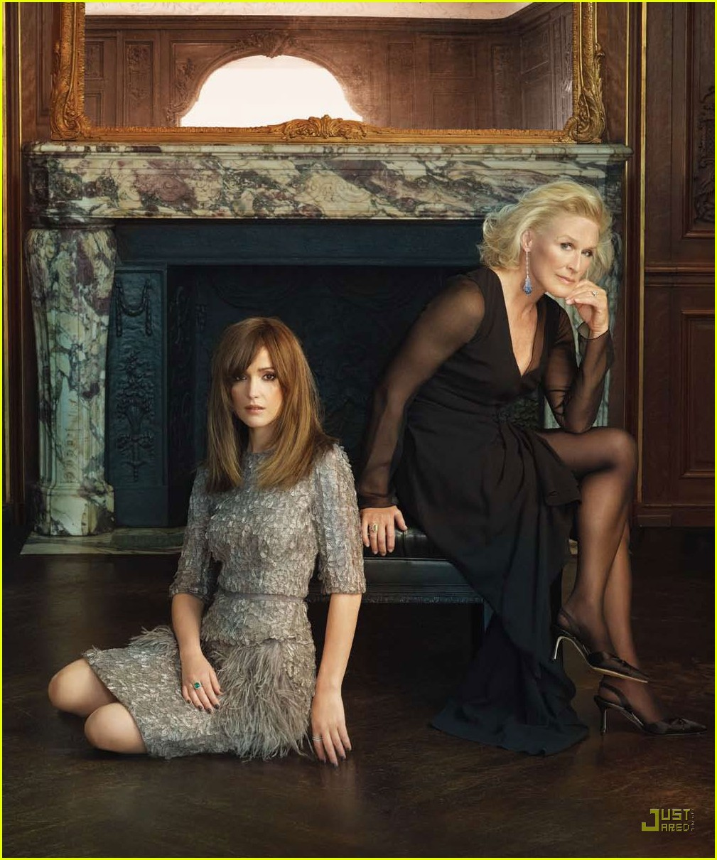 rose byrne glenn close gotham magazine 04
