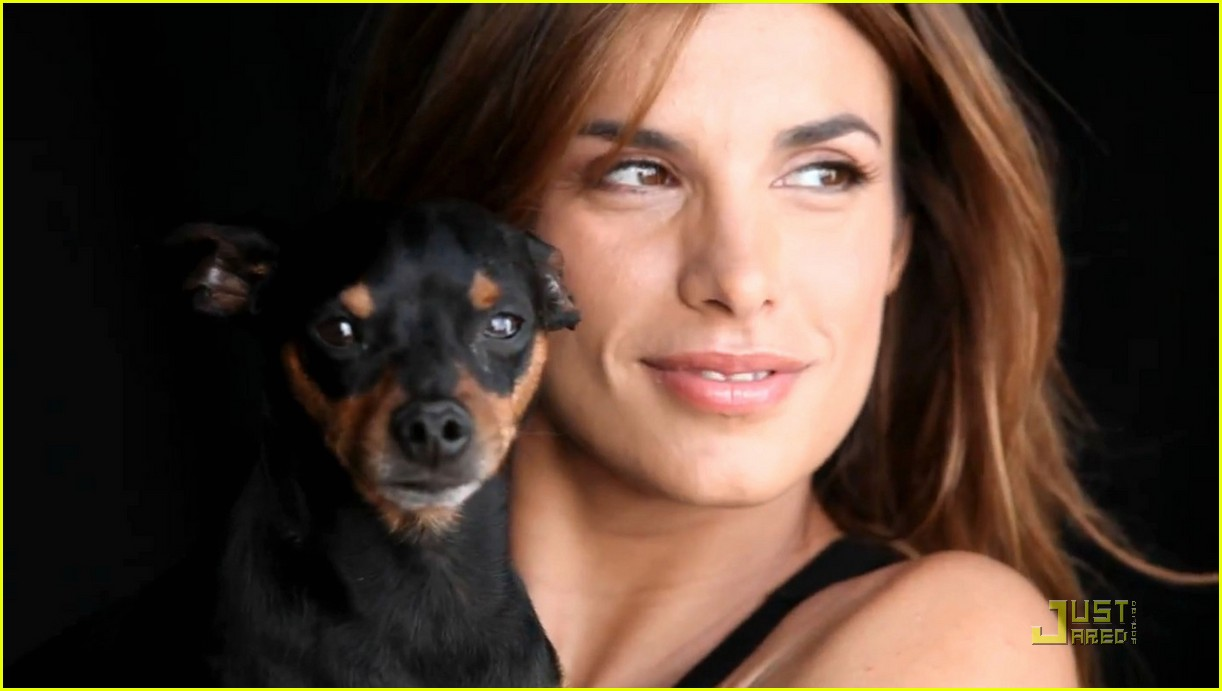 Elisabetta Canalis Naked for Anti-fur campaign | Fashion