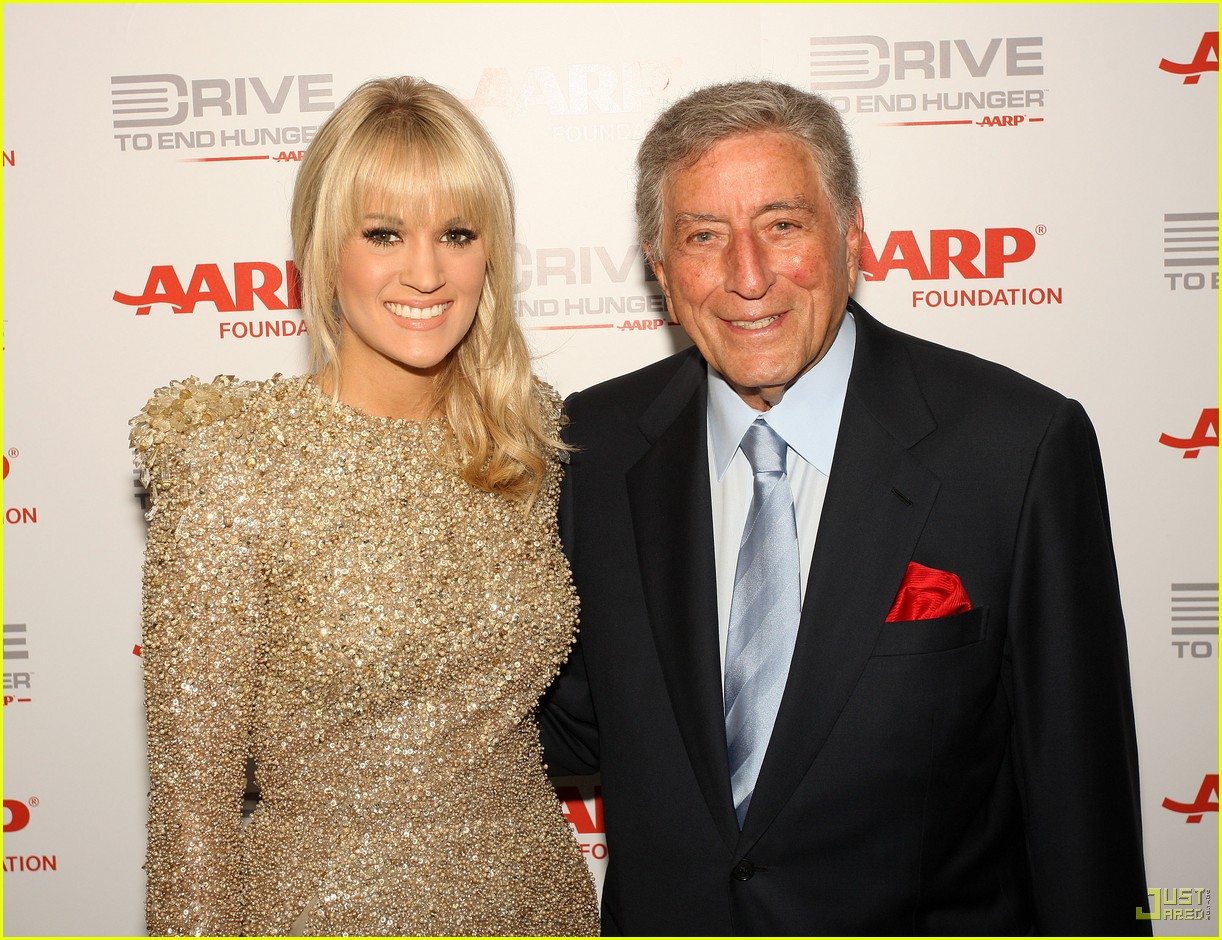 carrie underwood tony bennett staples center 012583930