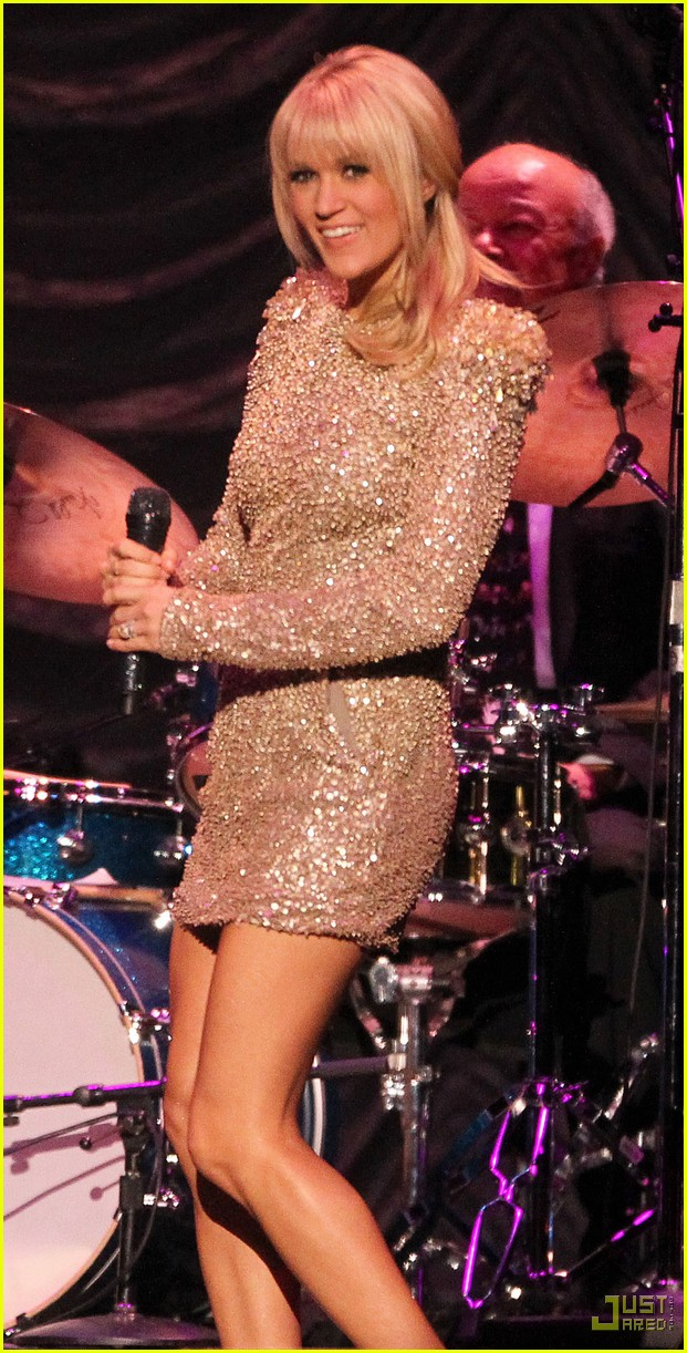 carrie underwood tony bennett staples center 022583931