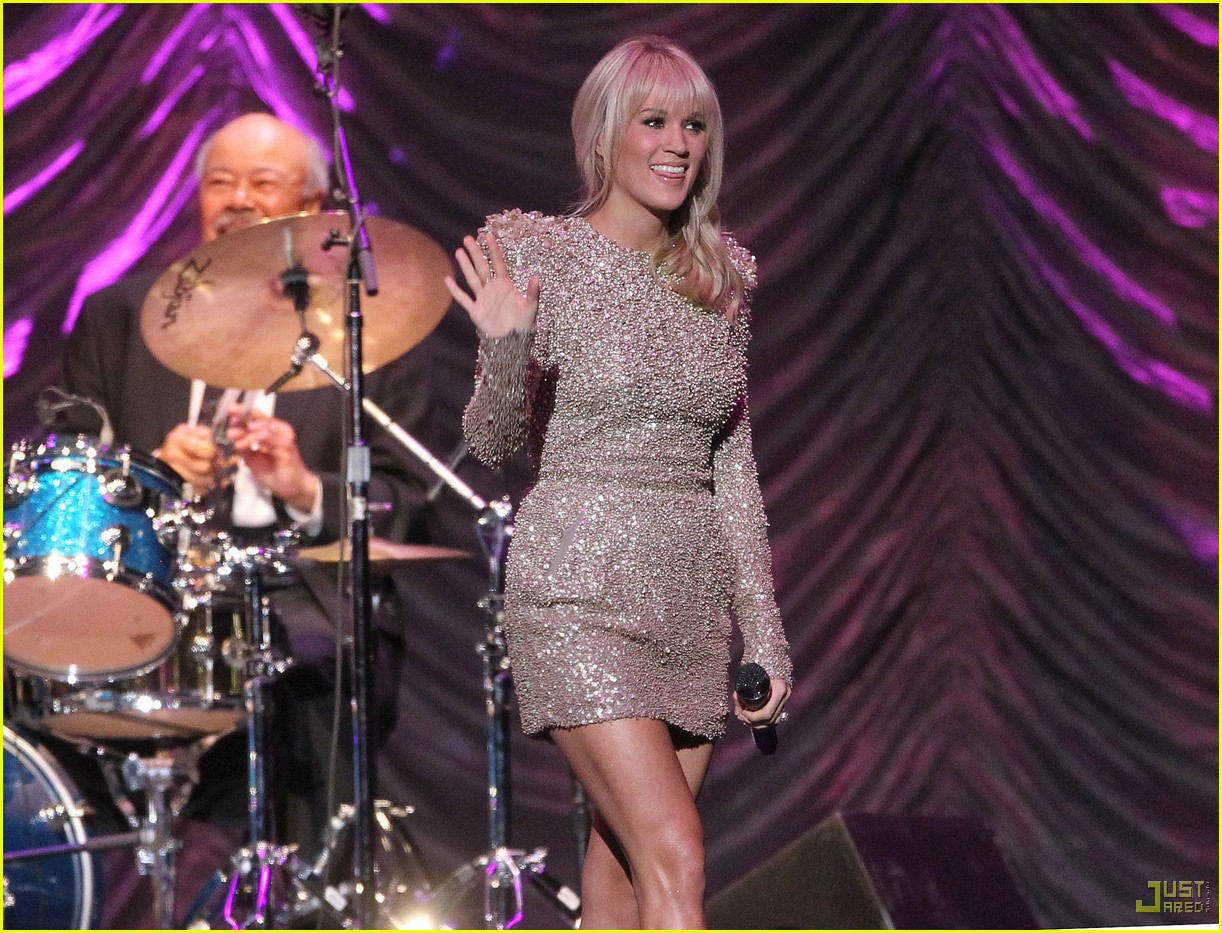 carrie underwood tony bennett staples center 092583938