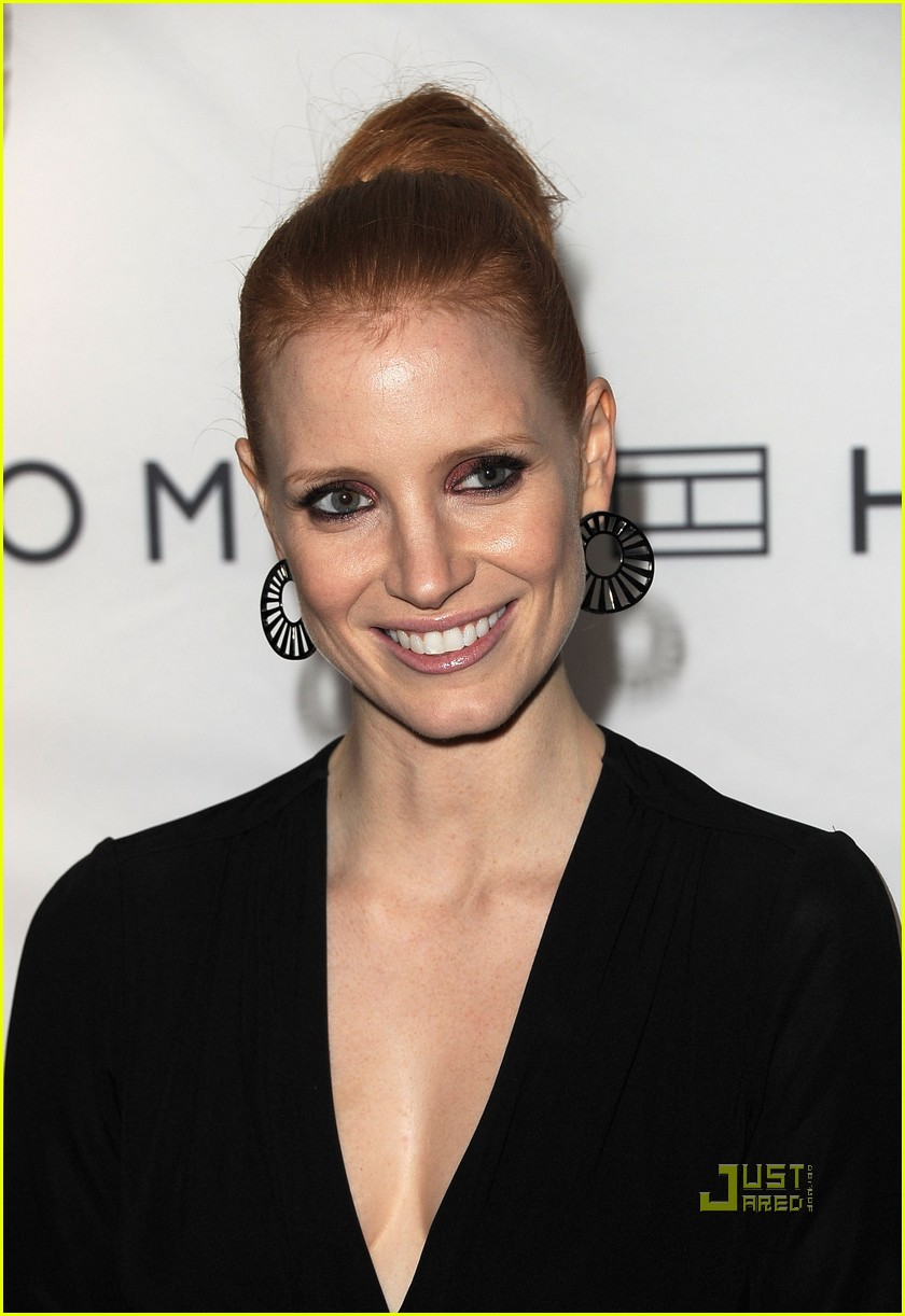 jessica chastain instyle hfpa event 032580354