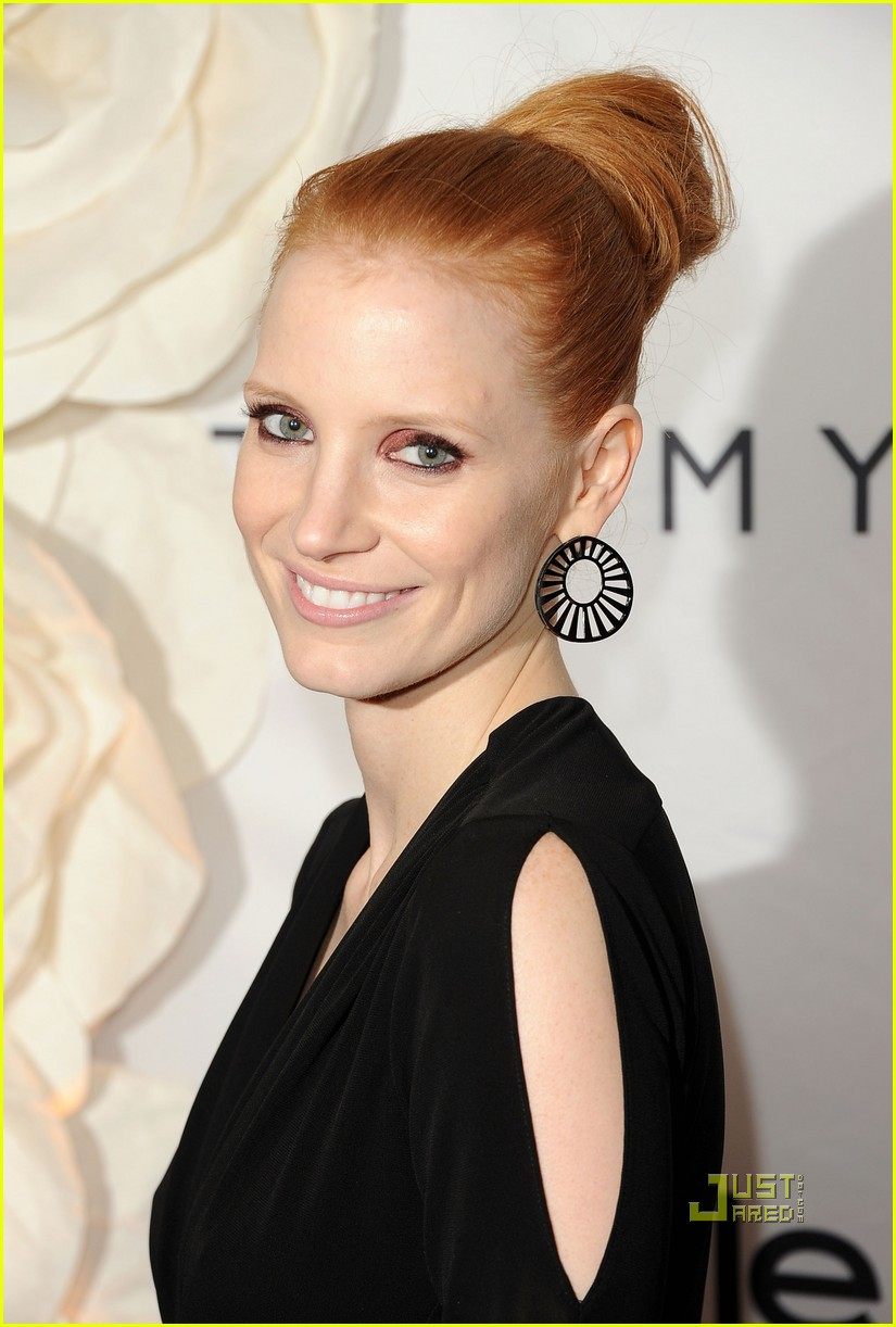jessica chastain instyle hfpa event 042580355