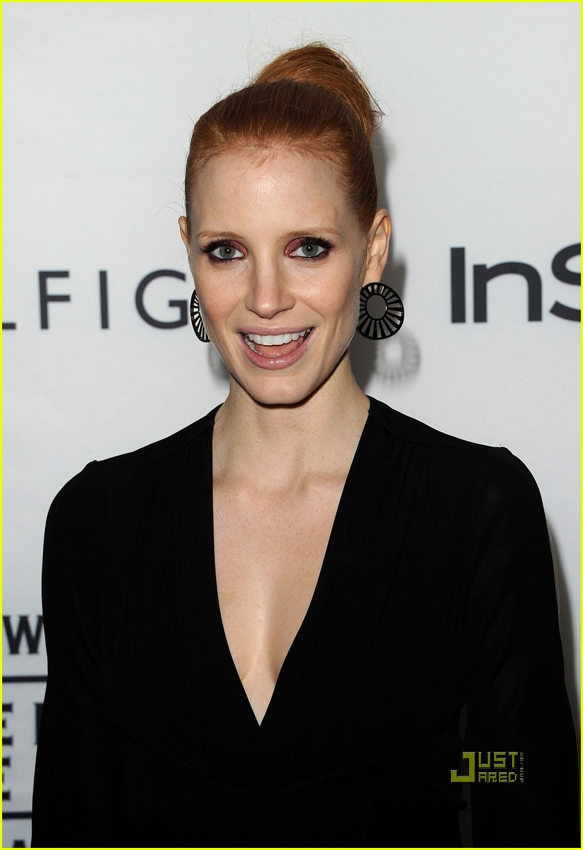 jessica chastain instyle hfpa event 062580357